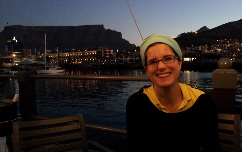 Et le coucher de soleil iconique au Waterfront...
