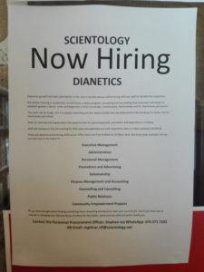Hiring dianetics